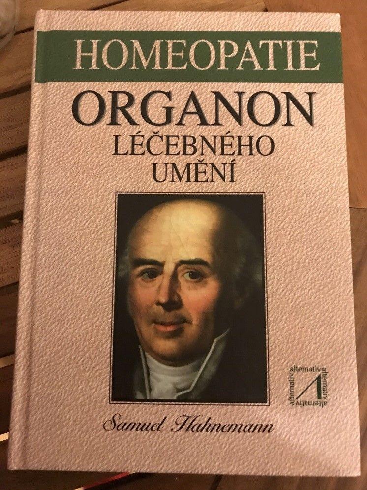 Základní kniha homeopatie Organon léčebného umění od Samuela Hahnemanna