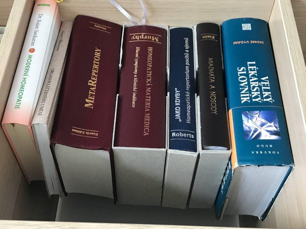 Knihy pro homeopatické léčení