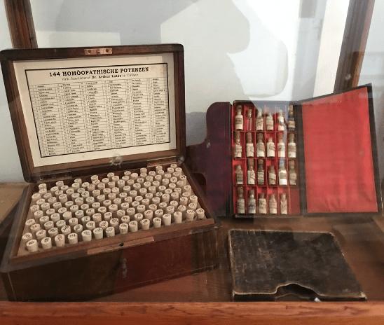 Homeopatika zdřívější doby