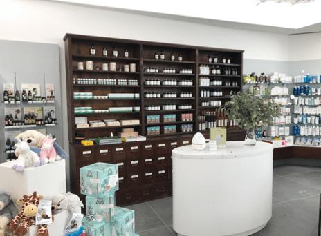 Lékárna Salvator, kde vyrábí homeopatika přímo namíru pro klienty.